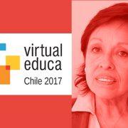 Amánda Céspedes en Virtual Educa Chile 2017