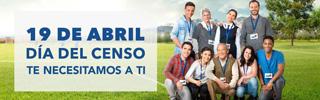 19 de abril: día del Censo. ¡Te necesitamos a ti!